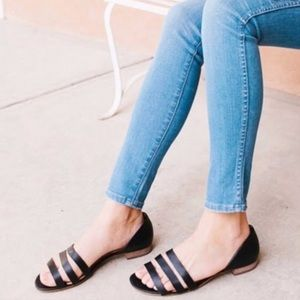 Madewell - Leila flat Strappy sandal